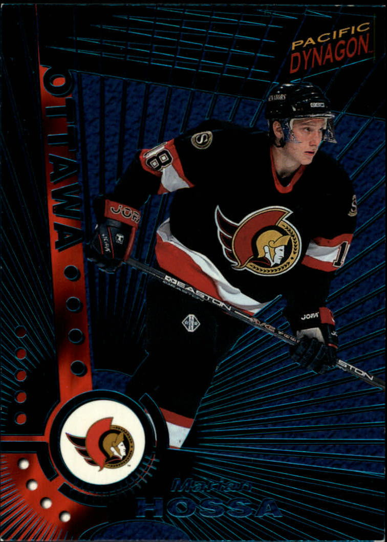 1997-98 Pacific Dynagon Emerald Green #NNO3 Marian Hossa