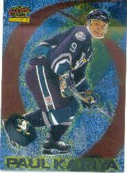 1997-98 Pacific Invincible Attack Zone #1 Paul Kariya