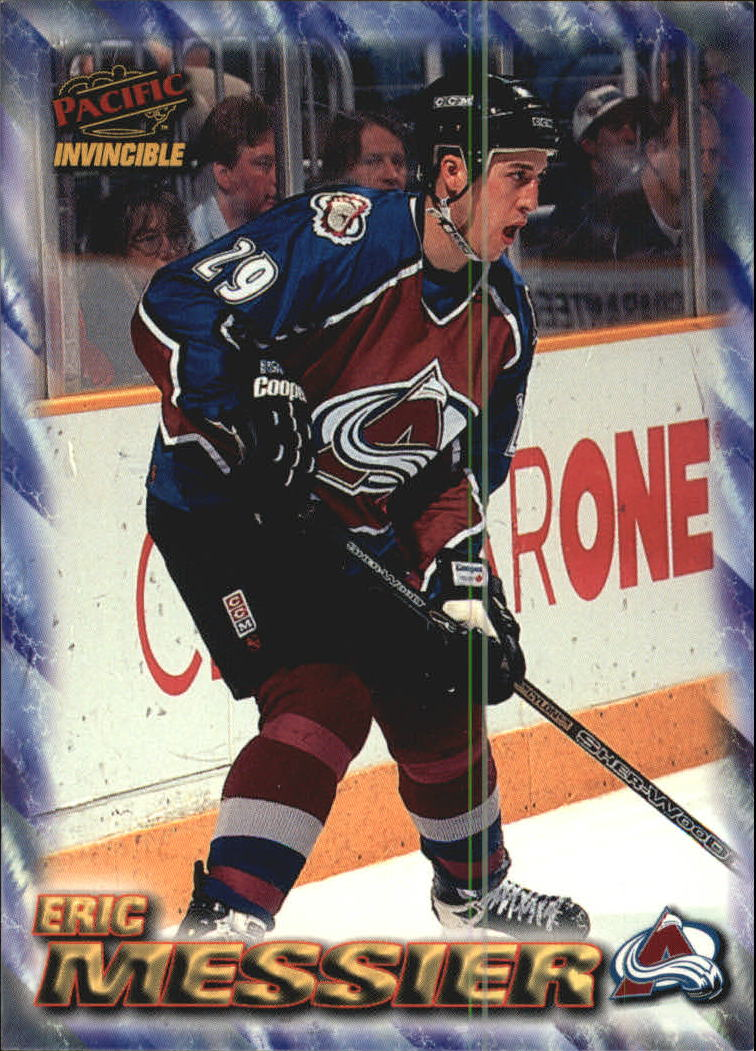 1997-98 Pacific Invincible NHL Regime #55 Eric Messier
