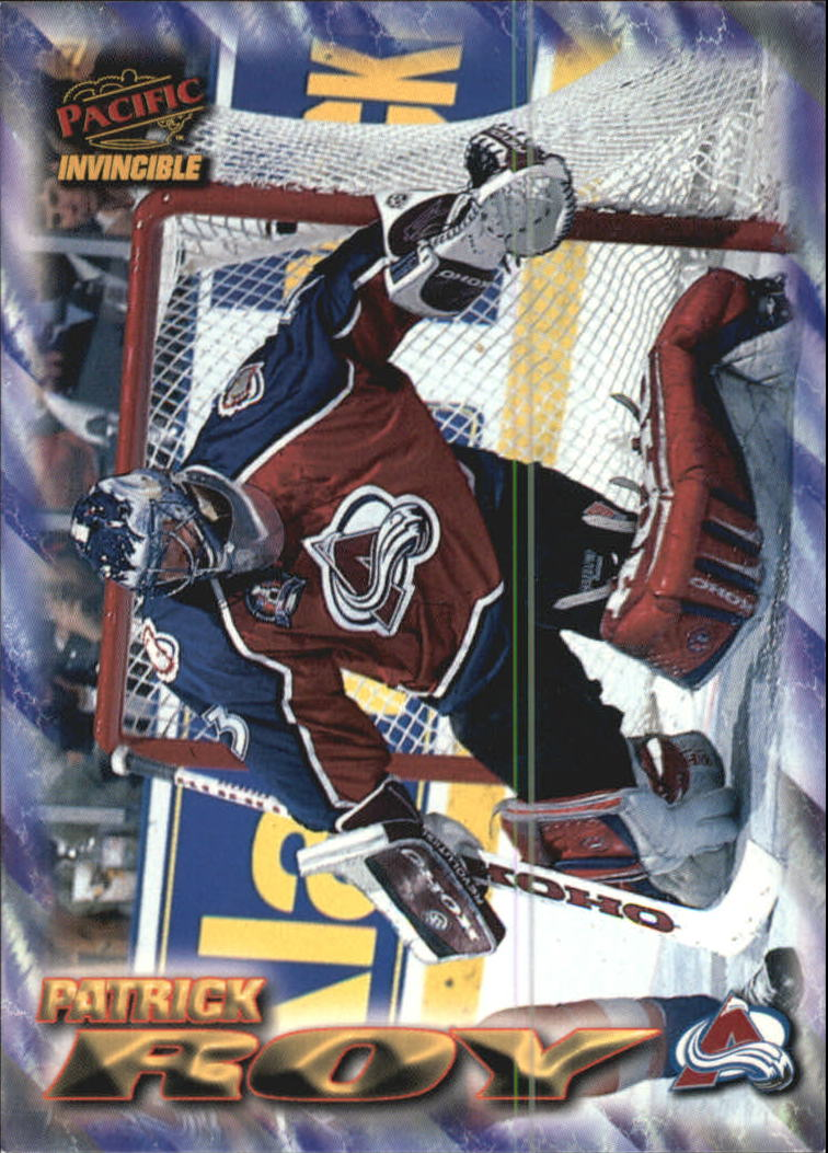 1997-98 Pacific Invincible NHL Regime #56 Patrick Roy