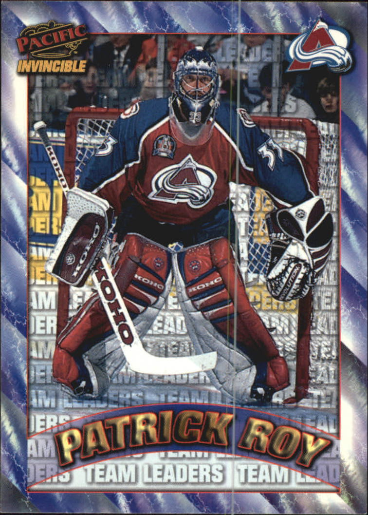 1997-98 Pacific Invincible NHL Regime #217 Patrick Roy TL
