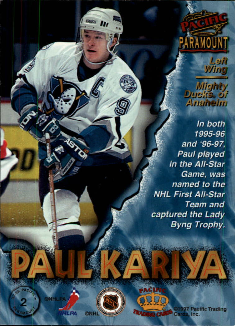 1997-98-Paramount-Hockey-Cards-Pick-From-List thumbnail 5