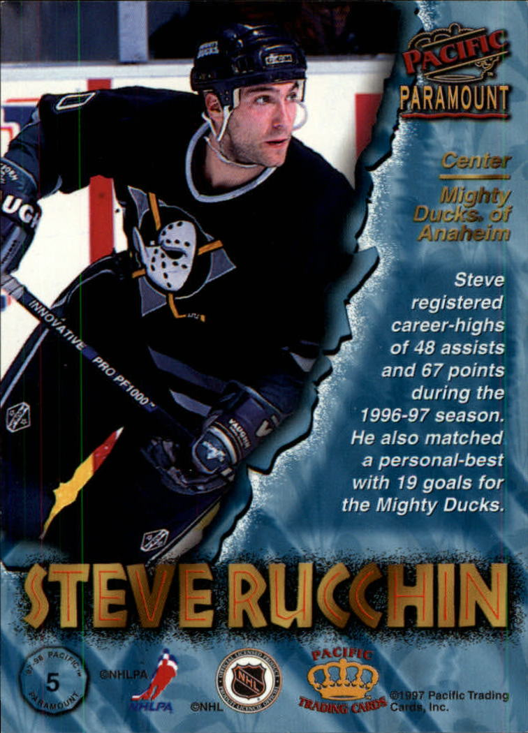1997-98-Paramount-Hockey-Cards-Pick-From-List thumbnail 11