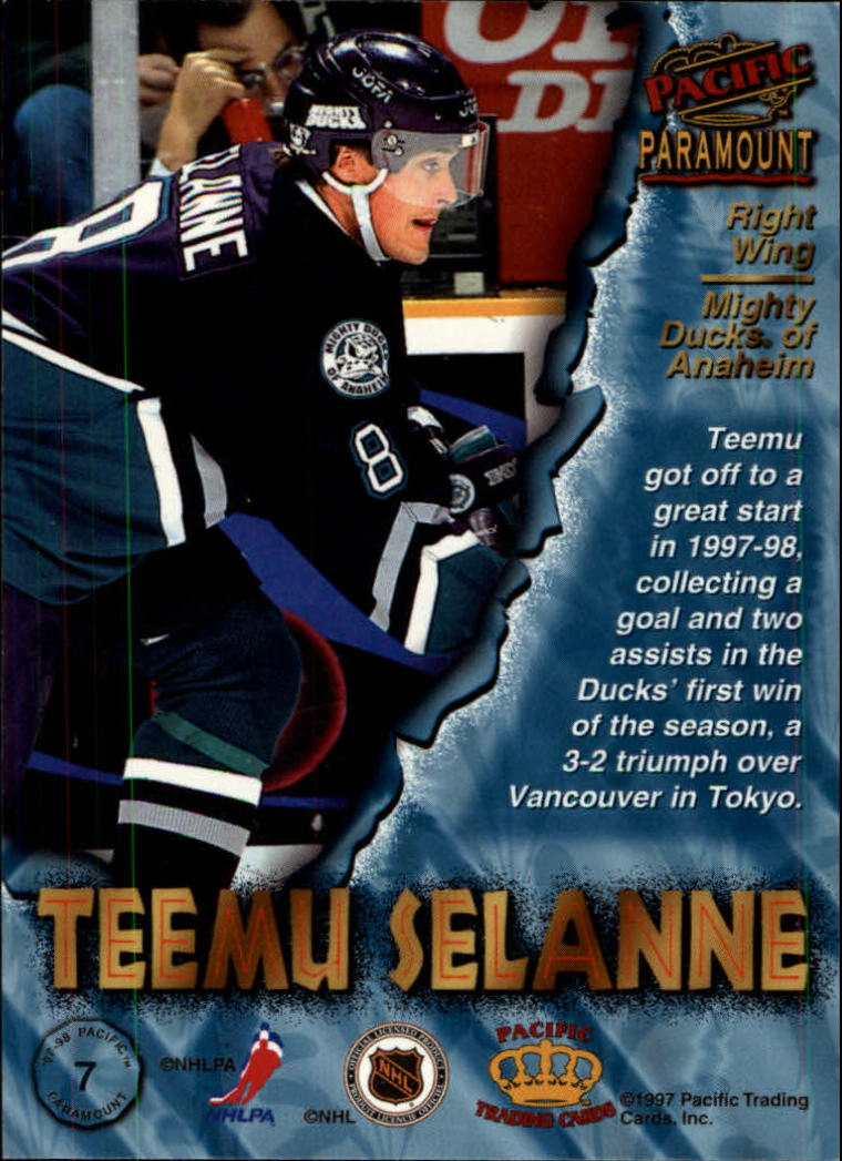 1997-98-Paramount-Hockey-Cards-Pick-From-List thumbnail 15