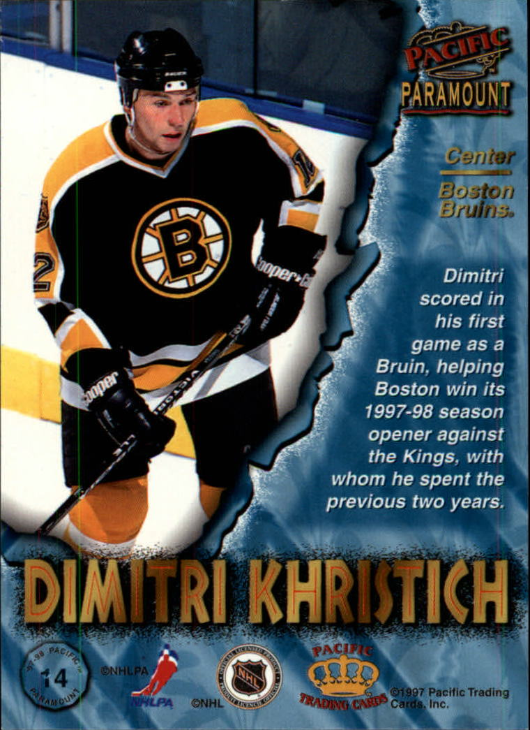 1997-98-Paramount-Hockey-Cards-Pick-From-List thumbnail 29