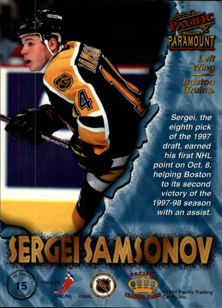 1997-98-Paramount-Hockey-Cards-Pick-From-List thumbnail 31