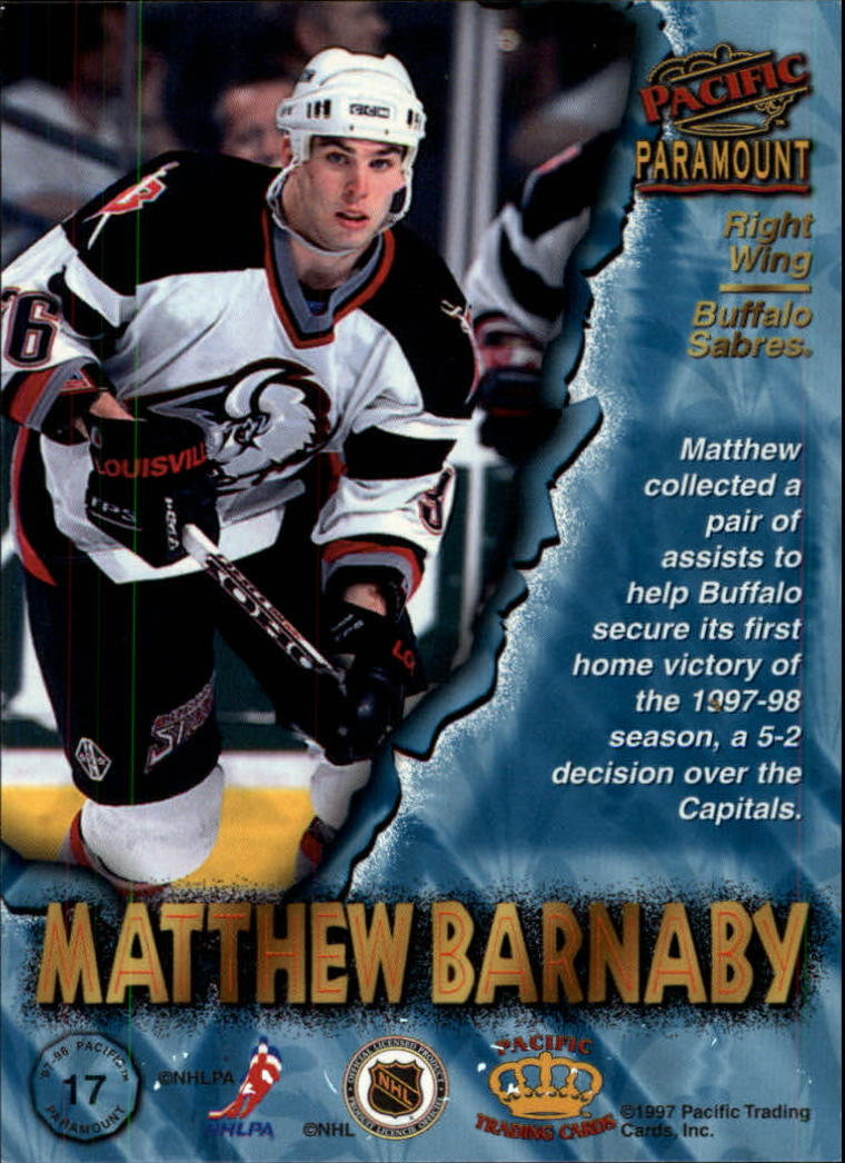 1997-98-Paramount-Hockey-Cards-Pick-From-List thumbnail 33