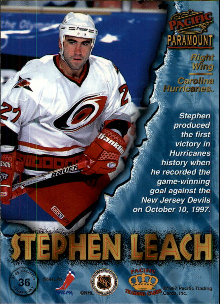 1997-98-Paramount-Hockey-Cards-Pick-From-List thumbnail 71