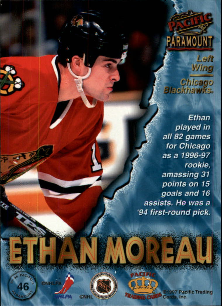 1997-98-Paramount-Hockey-Cards-Pick-From-List thumbnail 91