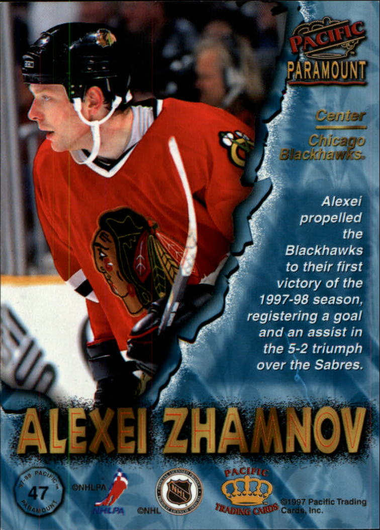 1997-98-Paramount-Hockey-Cards-Pick-From-List thumbnail 93
