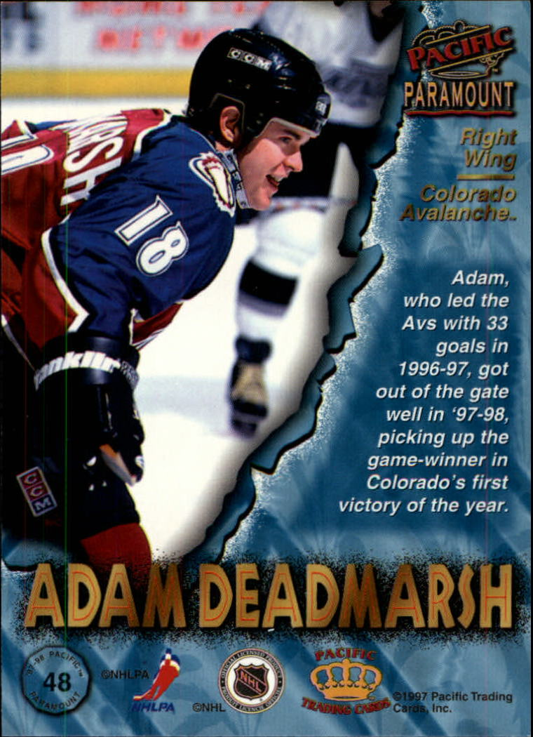 1997-98-Paramount-Hockey-Cards-Pick-From-List thumbnail 95
