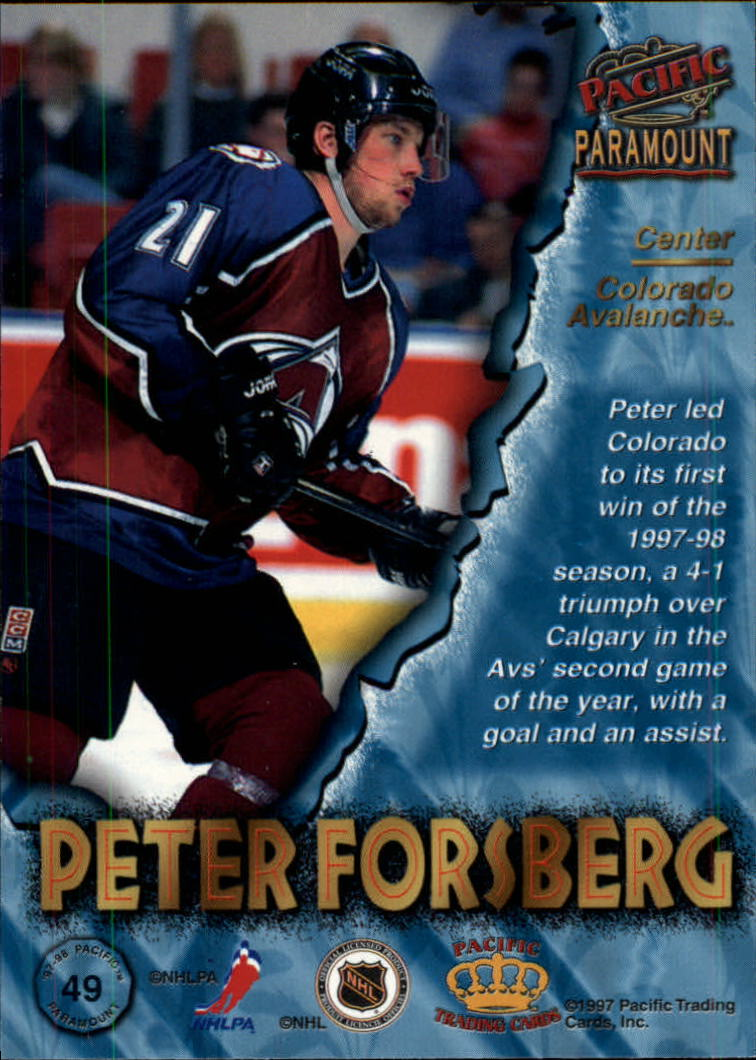 1997-98-Paramount-Hockey-Cards-Pick-From-List thumbnail 97
