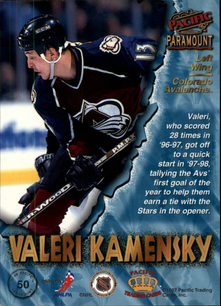 1997-98-Paramount-Hockey-Cards-Pick-From-List thumbnail 99