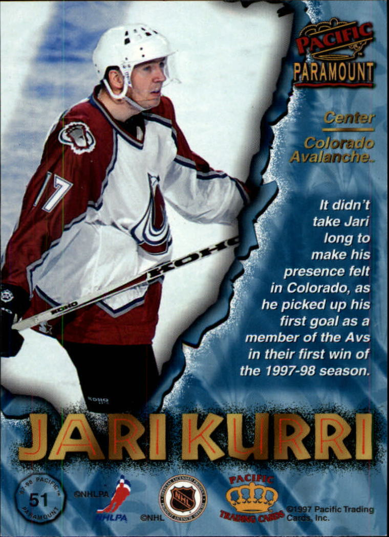 1997-98-Paramount-Hockey-Cards-Pick-From-List thumbnail 101