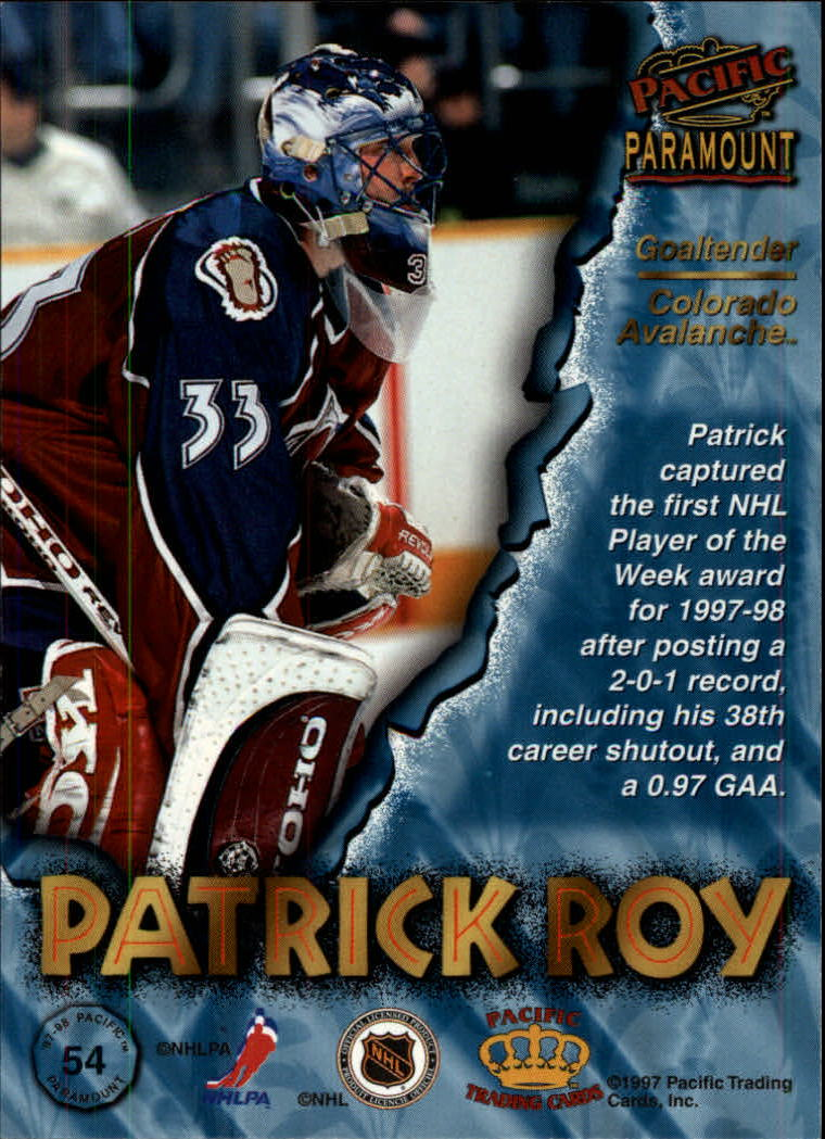 1997-98-Paramount-Hockey-Cards-Pick-From-List thumbnail 107