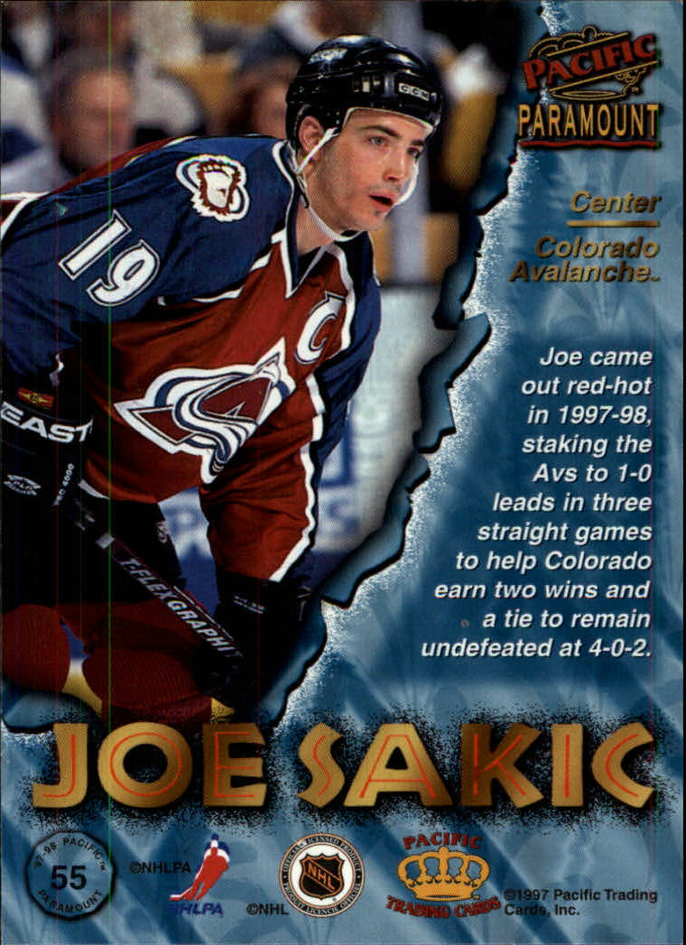 1997-98-Paramount-Hockey-Cards-Pick-From-List thumbnail 109