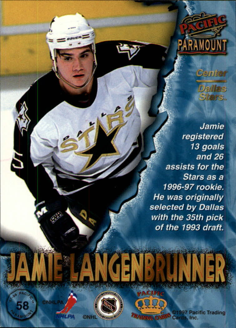 1997-98-Paramount-Hockey-Cards-Pick-From-List thumbnail 113