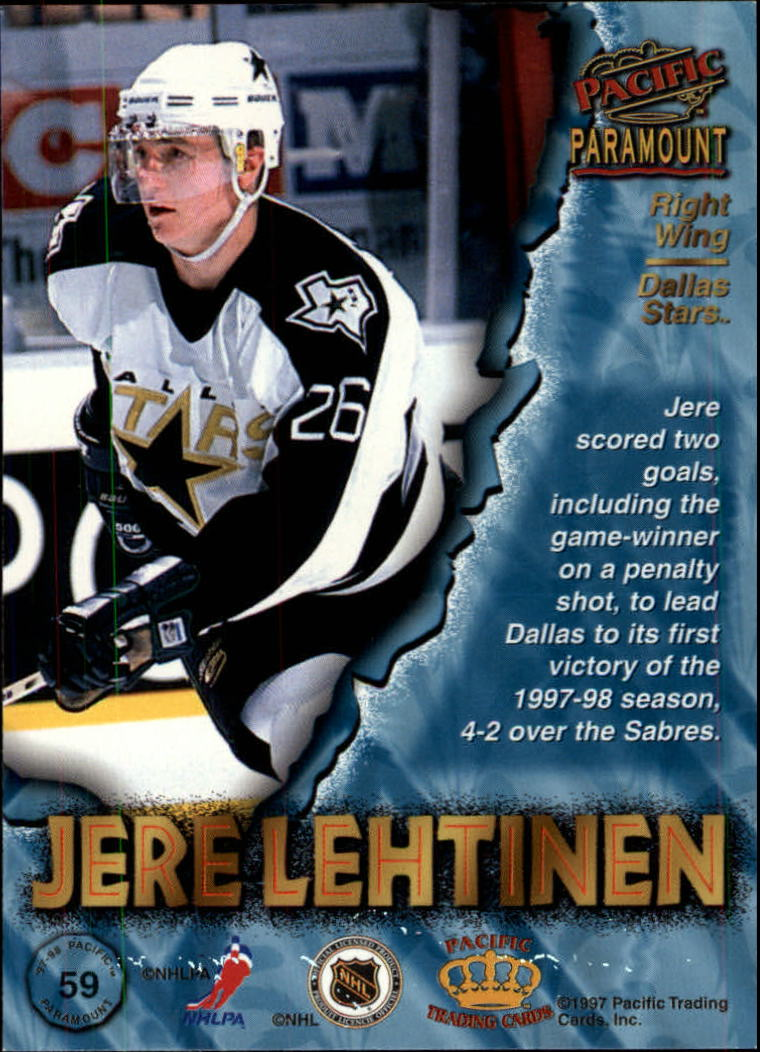 1997-98-Paramount-Hockey-Cards-Pick-From-List thumbnail 115