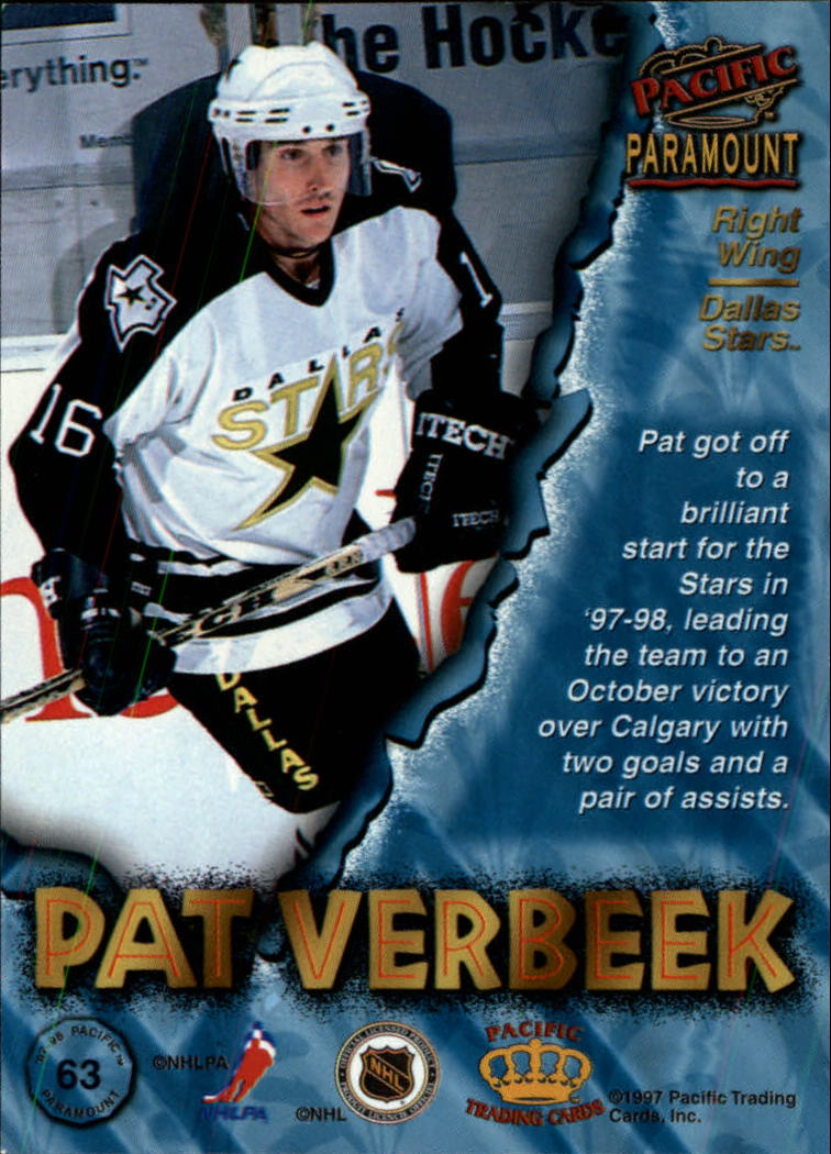 1997-98-Paramount-Hockey-Cards-Pick-From-List thumbnail 123