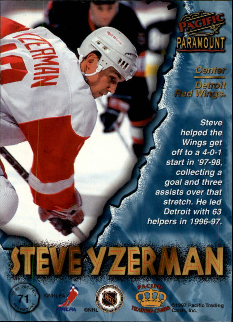 1997-98-Paramount-Hockey-Cards-Pick-From-List thumbnail 139