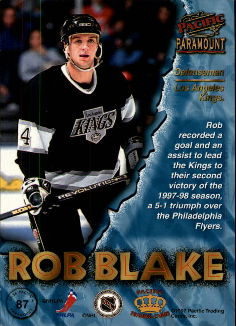 1997-98-Paramount-Hockey-Cards-Pick-From-List thumbnail 169