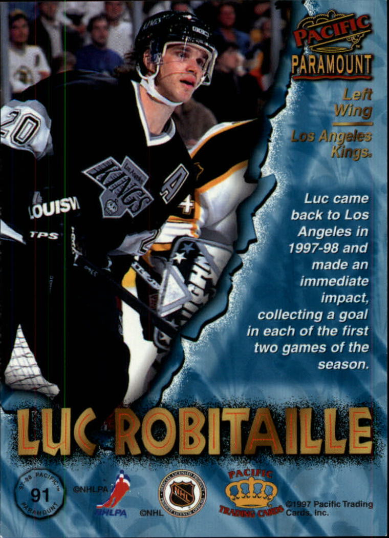 1997-98-Paramount-Hockey-Cards-Pick-From-List thumbnail 177