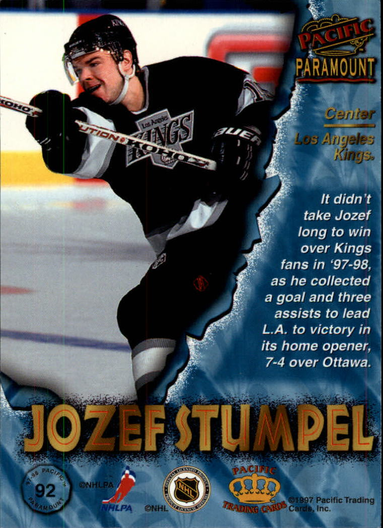 1997-98-Paramount-Hockey-Cards-Pick-From-List thumbnail 179