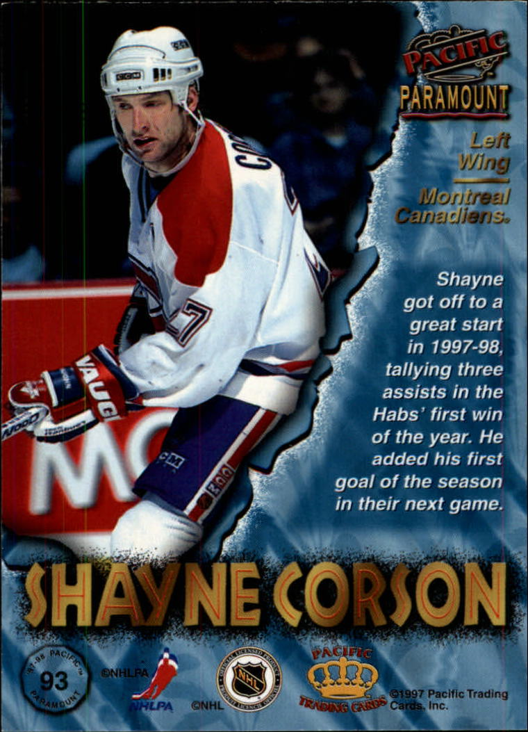 1997-98-Paramount-Hockey-Cards-Pick-From-List thumbnail 181