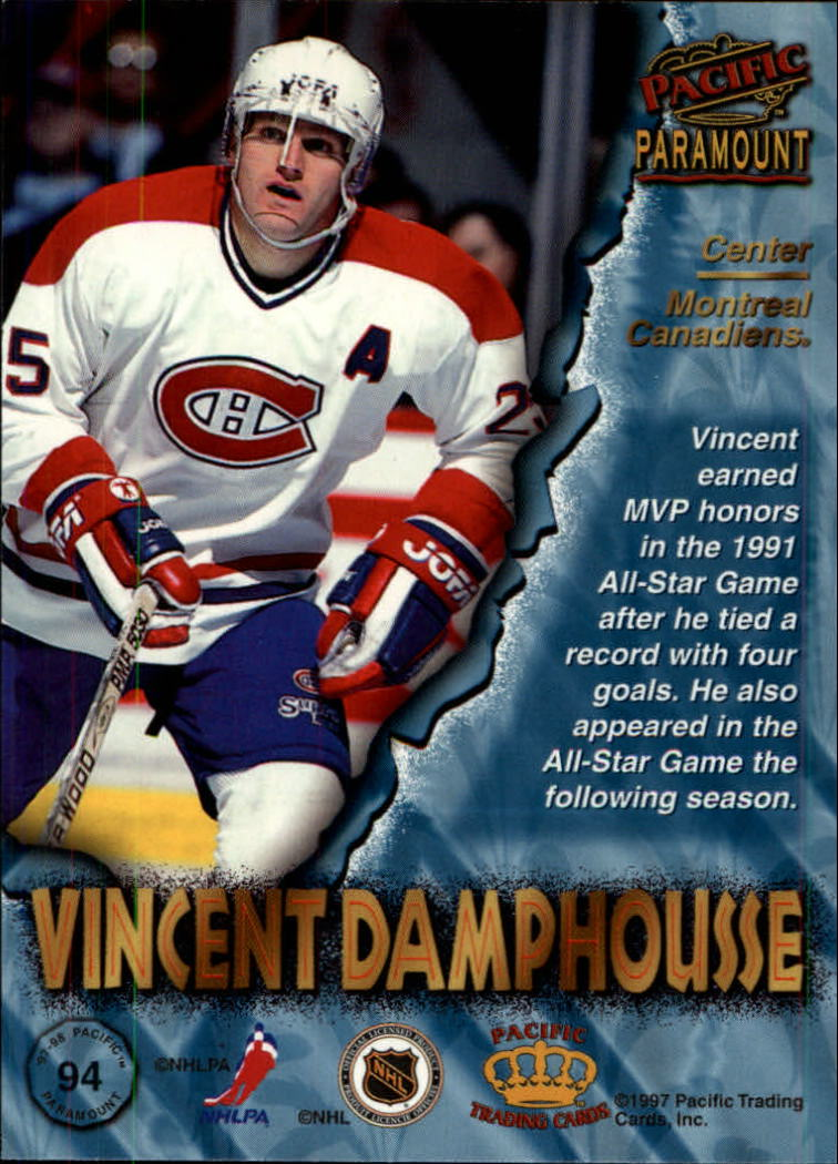 1997-98-Paramount-Hockey-Cards-Pick-From-List thumbnail 183