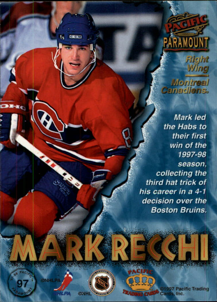 1997-98-Paramount-Hockey-Cards-Pick-From-List thumbnail 189