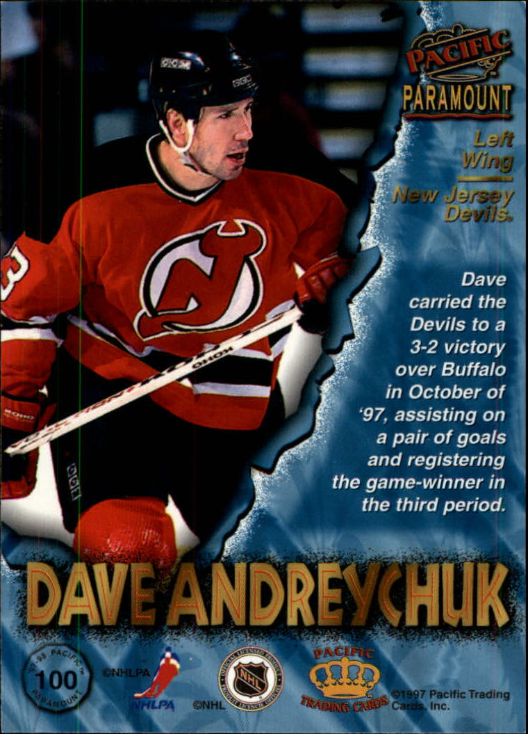 1997-98-Paramount-Hockey-Cards-Pick-From-List thumbnail 193