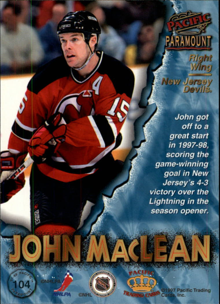 1997-98-Paramount-Hockey-Cards-Pick-From-List thumbnail 201