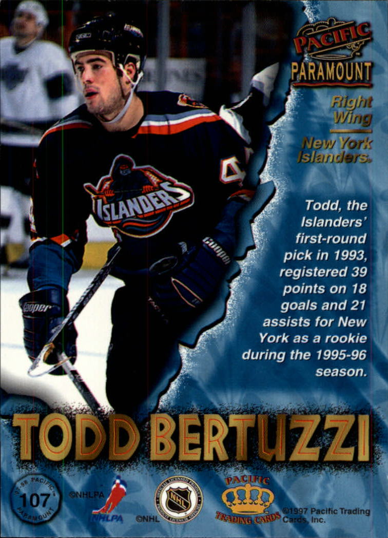 1997-98-Paramount-Hockey-Cards-Pick-From-List thumbnail 207