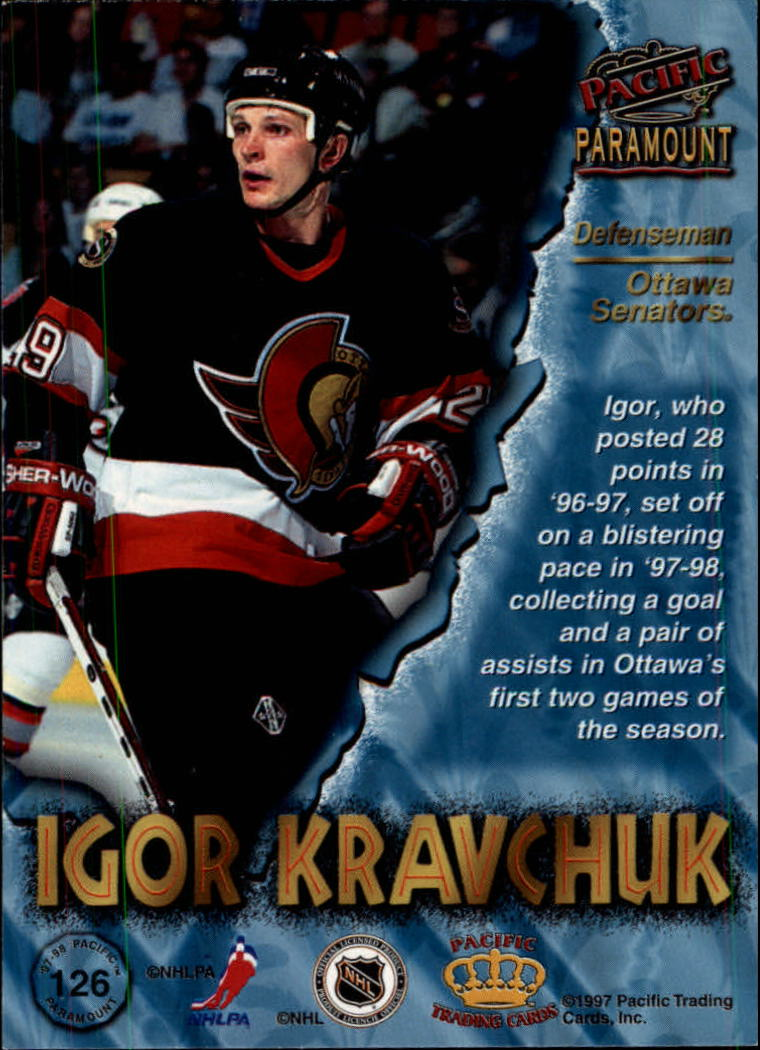 1997-98-Paramount-Hockey-Cards-Pick-From-List thumbnail 245