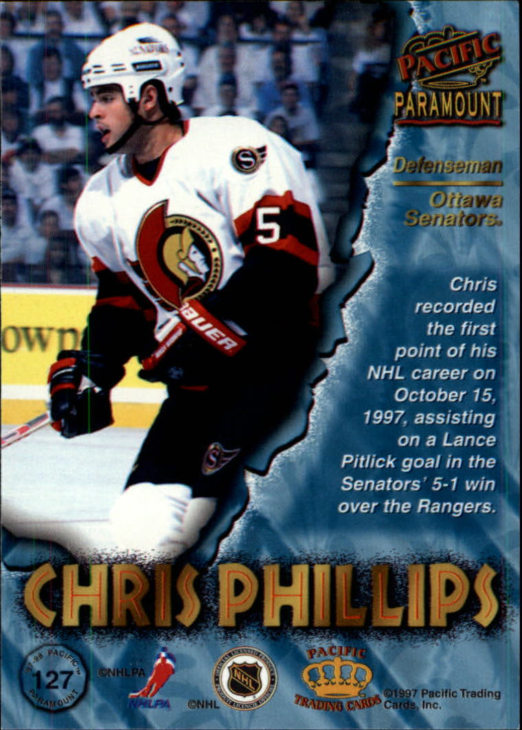 1997-98-Paramount-Hockey-Cards-Pick-From-List thumbnail 247