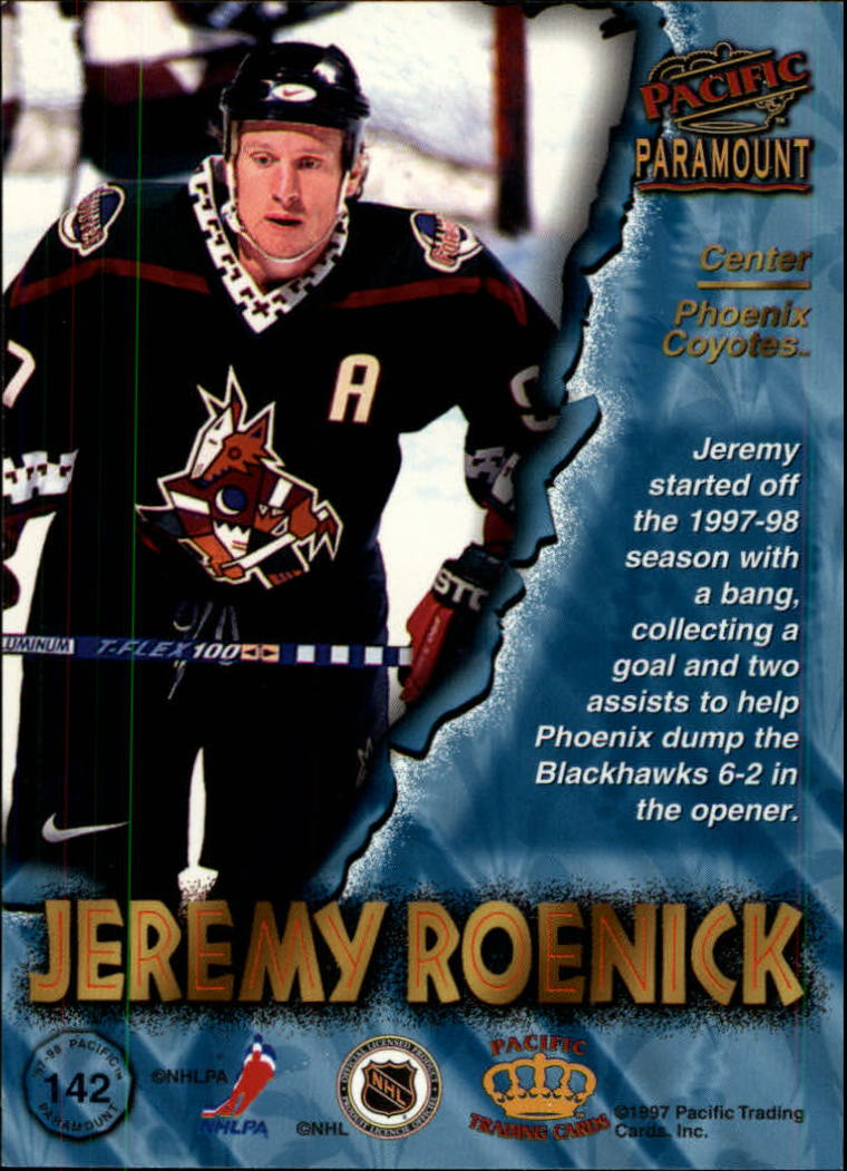 1997-98-Paramount-Hockey-Cards-Pick-From-List thumbnail 277