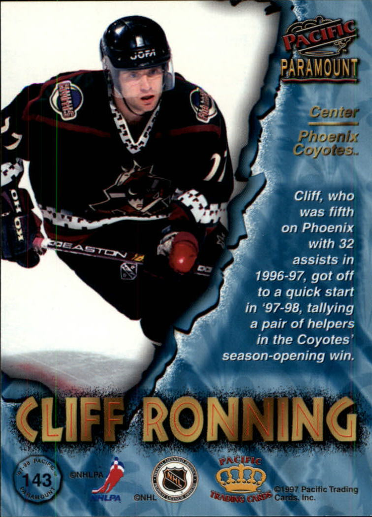 1997-98-Paramount-Hockey-Cards-Pick-From-List thumbnail 279