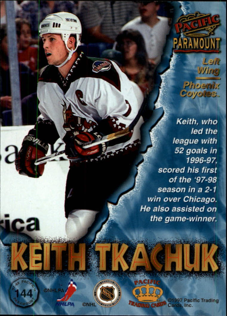 1997-98-Paramount-Hockey-Cards-Pick-From-List thumbnail 281