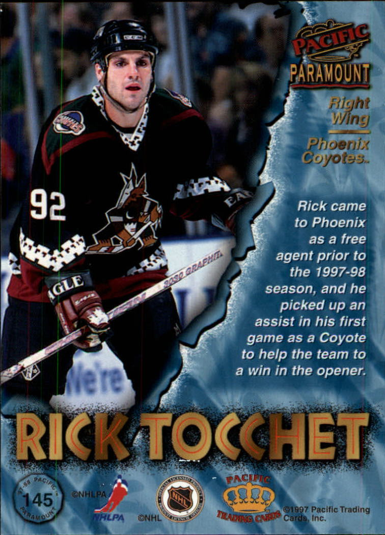 1997-98-Paramount-Hockey-Cards-Pick-From-List thumbnail 283