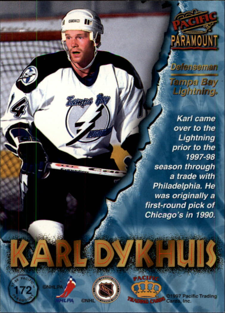 1997-98-Paramount-Hockey-Cards-Pick-From-List thumbnail 335