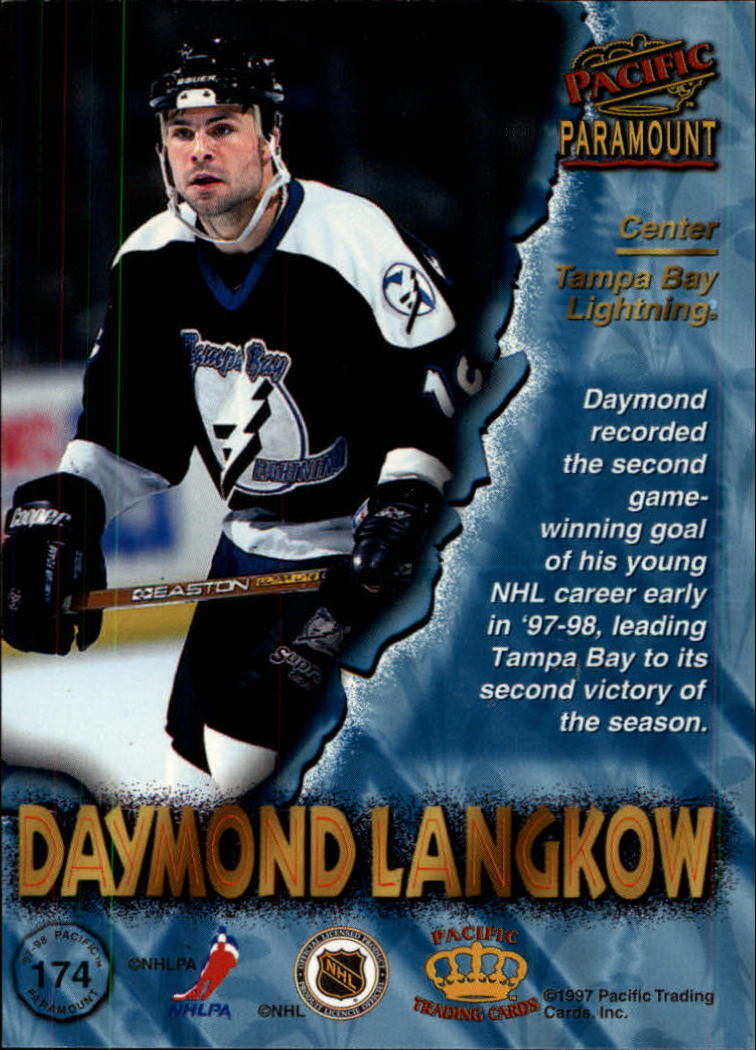 1997-98-Paramount-Hockey-Cards-Pick-From-List thumbnail 339