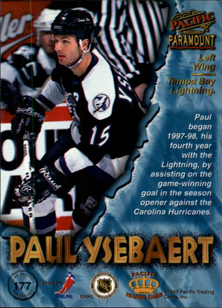 1997-98-Paramount-Hockey-Cards-Pick-From-List thumbnail 345