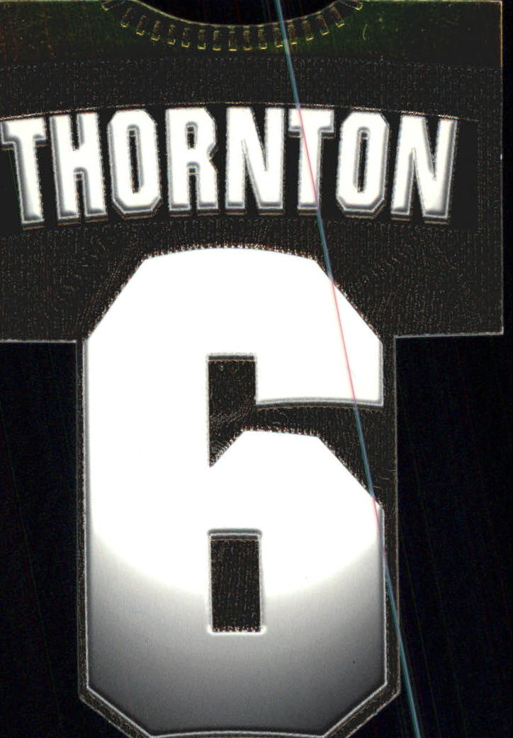 1997-98 Paramount Big Numbers Die-Cuts #3 Joe Thornton
