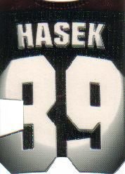 1997-98 Paramount Big Numbers Die-Cuts #4 Dominik Hasek