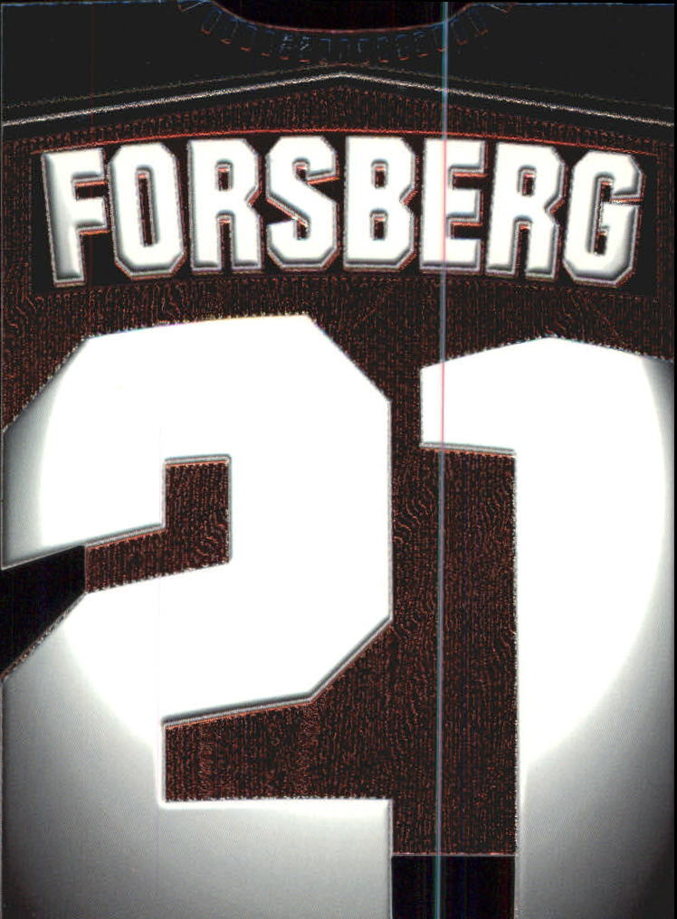 1997-98 Paramount Big Numbers Die-Cuts #5 Peter Forsberg