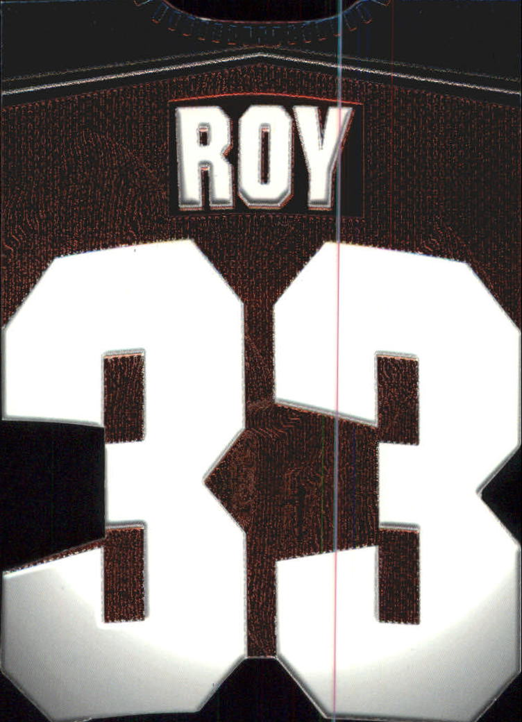 1997-98 Paramount Big Numbers Die-Cuts #6 Patrick Roy