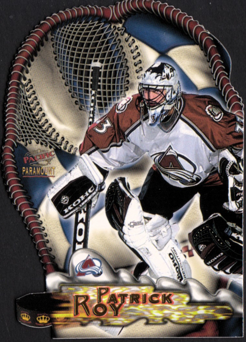 1997-98 Paramount Glove Side Laser Cuts #5 Patrick Roy