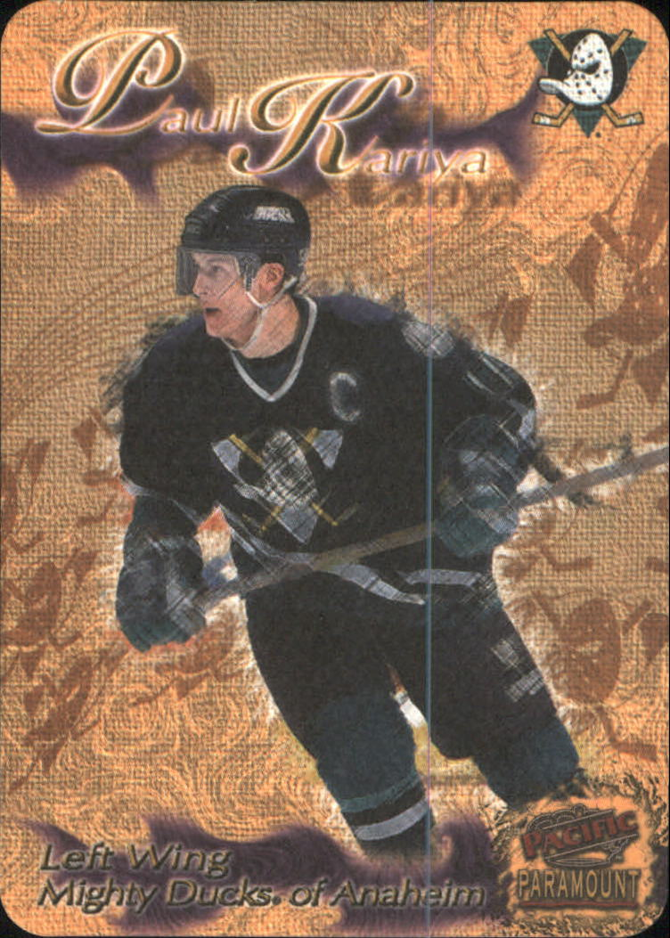 1997-98 Paramount Photoengravings #1 Paul Kariya