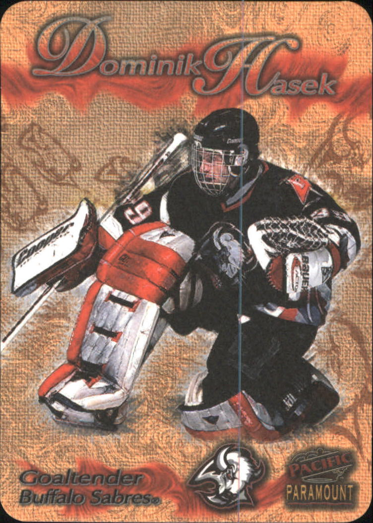 1997-98 Paramount Photoengravings #4 Dominik Hasek