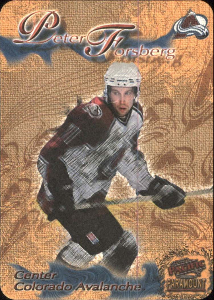1997-98 Paramount Photoengravings #5 Peter Forsberg